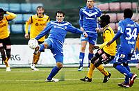 Fotball ,9. april 2012 , Adeccoligaen , 1. divisjon , Sarpsborg - Start 4-4<br /> Martin Wiig , Sarpsborg