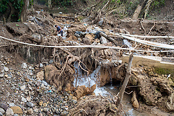 Across the Santa Barbara region the water supply has been badly damaged, it is expected that it will take several months to restore the supply even to the city of Santa Barbara.