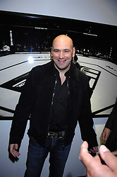 DANA WHITE the current President of the Ultimate Fighting Championship at a private view of Octagan a showcase of work of photographer Kevin Lynch featuring the stars of the Ultimate Fighter Championship held at Hamiltons gallery, Mayfair, London on 17th January 2008.<br /><br />NON EXCLUSIVE - WORLD RIGHTS