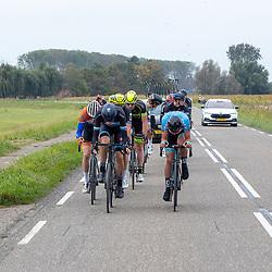 Philippine (NED) CYCLING OCTBER 17<br /> Omloop van de Braakman<br /> Kopgroep met o.a. Jarno Mobach