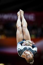 November 2, 2018 - Doha, Qatar - Elsabeth Black of Canada   during  Vault for Women at the Aspire Dome in Doha, Qatar, Artistic FIG Gymnastics World Championships on 2 of November 2018. (Credit Image: © Ulrik Pedersen/NurPhoto via ZUMA Press)