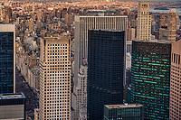 Midtown (foreground), Lenox Hill & Upper East Side Neighborhoods