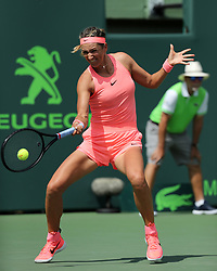 March 21, 2018 - Key Biscayne, Florida, United States Of America - KEY BISCAYNE, FL - MARCH 21: Victoria Azarenka during day 3 of the Miami Open Presented by Itau at Crandon Park Tennis Center on March 21, 2018 in Key Biscayne, Florida. ...People:  Victoria Azarenka. (Credit Image: © SMG via ZUMA Wire)