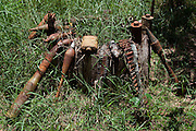 Land mines at Museum Cambodia