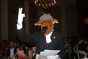 'Felix' Connaught Square Squirrel Hunt Inaugural Hunt Ball. Banqueting House, Whitehall. 8 September 2005. ONE TIME USE ONLY - DO NOT ARCHIVE  © Copyright Photograph by Dafydd Jones 66 Stockwell Park Rd. London SW9 0DA Tel 020 7733 0108 www.dafjones.com