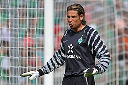 14.08.2010, Wersestadion, Ahlen, GER, Rot Weiss Ahlen vs Werder Bremen 0:4, DFB Pokal 1. Runde,  1. FBL 2010, im Bild Keeper Tim Wiese ( Werder #01 ). EXPA Pictures © 2010, PhotoCredit: EXPA/ nph/  Kurth+++++ ATTENTION - OUT OF GER +++++ / SPORTIDA PHOTO AGENCY