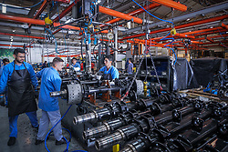 Fabricante de suspensões e eixos, a Suspensys é líder no mercado da América do Sul no fornecimento de suspensões para implementos e suspensões 6x2 e 6x4 para caminhões. FOTO: Jefferson Bernardes/ Agência Preview