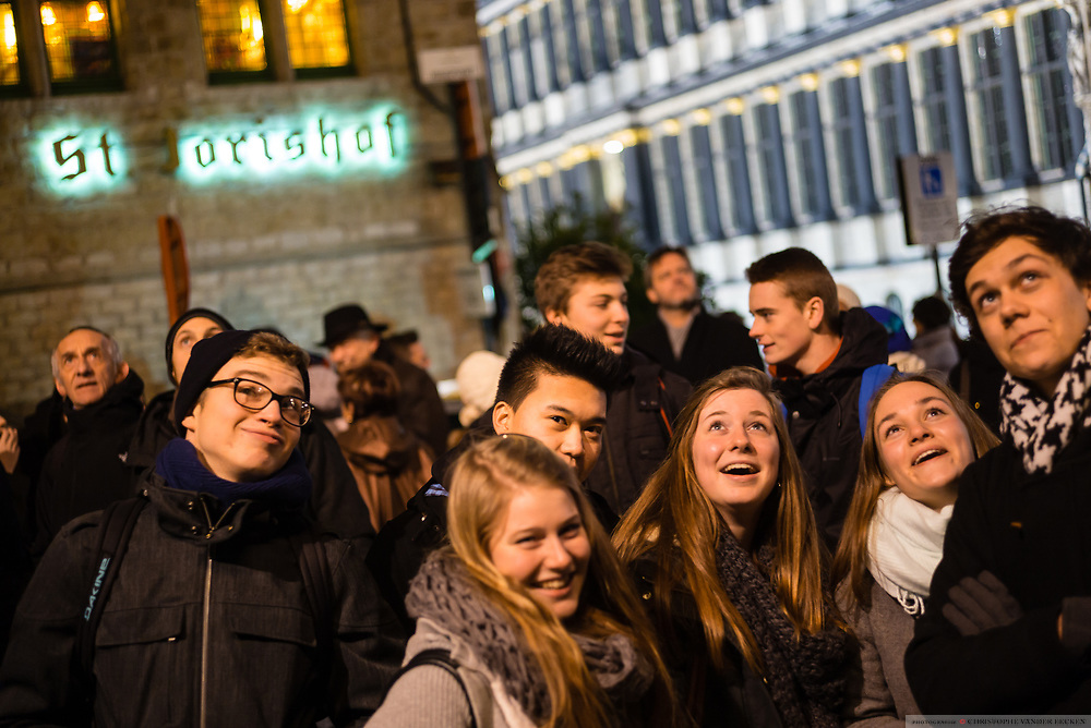 20150128 Gent Belgie: Lichtfestival Gent
