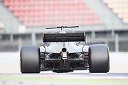 March 7-10, 2017: Circuit de Catalunya. Romain Grosjean (FRA), Haas F1 Team, VF17  diffuser detail photo