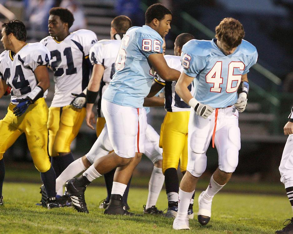 Saint Joseph's High School Varsity Football 2008.Saint Joseph's (34) vs. Riley (0)