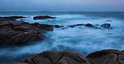 Big waves on the Atlantic coast of Ireland, Connemara, Co. Galway