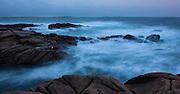 Big waves on the Atlantic coast of Ireland, Connemara, Co. Galway