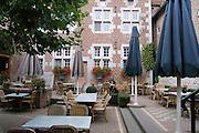 Belgium, An outdoor cafe
