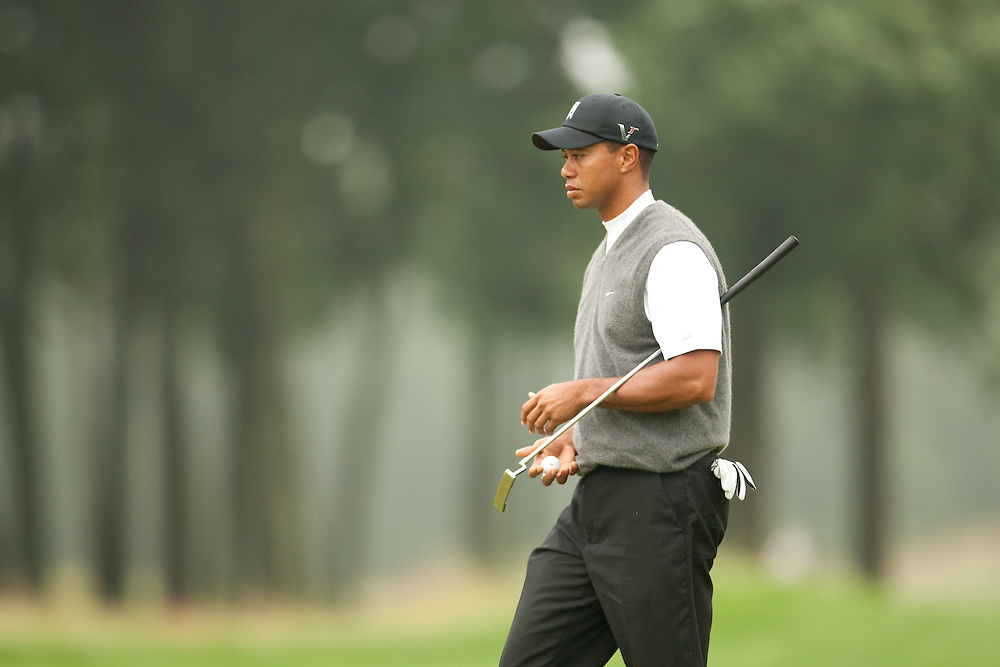 FARMINGDALE, NY - JUNE 19:  Tiger Woods as seen during the continuation of the first round of the 109th U.S. Open Championship on the Black Course at Bethpage State Park on Friday, June 19, 2009. (Photograph by Darren Carroll) *** Local Caption *** Tiger Woods