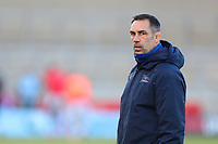 Rugby Union - 2020 / 2021 Gallagher Premiership - Round 18 - Sale Sharks vs Leicester Tigers - A J Bell Stadium<br /> <br /> Sale Sharks Director of Rugby Alex Sanderson