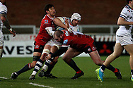 Bristol Bears Jake Heenan  during the Gallagher Premiership Rugby match between Gloucester Rugby and Bristol Rugby at the Kingsholm Stadium, Gloucester, United Kingdom on 12 February 2021.