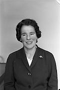 02/04/1963<br /> 04/02/1963<br /> 02 April 1963<br /> Long Service Awards recipients at Irish Shell, Fleet Street Dublin. Miss M. Brady.