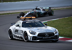 May 13, 2018 - Barcelona, Catalonia, Spain - Safety Car during the GP Spain F1, on 13th May 2018 in Barcelona, Spain. (Credit Image: © Joan Valls/NurPhoto via ZUMA Press)