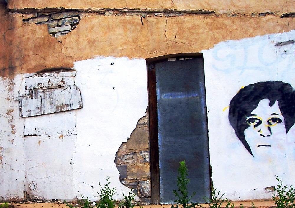 Back alley art, Las Vegas, New Mexico