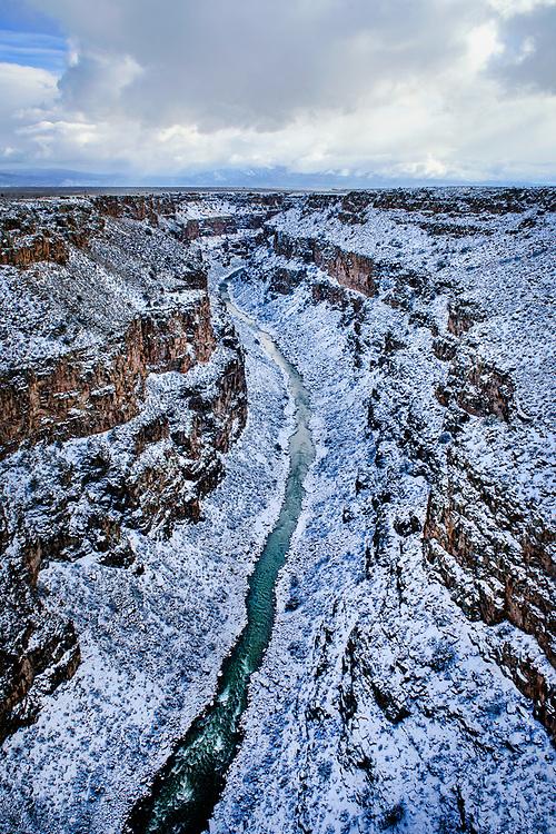 Rio Grande Gorge Bridge, 650 ft above the Rio Grande, Taos, New Mexico