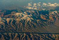 Aerial view, Gobi Desert, China.