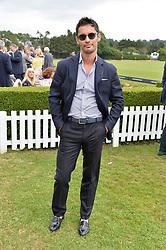 J B Fernandez-Versini at the Laureus King Power Cup polo match held at Ham Polo Club, Richmond, London England. 22 June 2017.<br /> Photo by Dominic O'Neill/SilverHub 0203 174 1069 sales@silverhubmedia.com