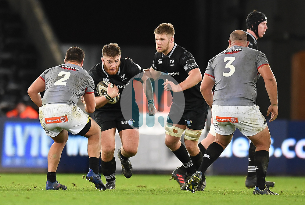 Ospreys' Rhodri Jones<br /> <br /> Photographer Mike Jones/Replay Images<br /> <br /> Guinness PRO14 Round Round 15 - Ospreys v Southern Kings - Friday 16th February 2018 - Liberty Stadium - Swansea<br /> <br /> World Copyright © Replay Images . All rights reserved. info@replayimages.co.uk - http://replayimages.co.uk