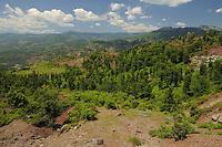 Typical landscape in Shebeniku-Jabllanica National Park. Albania June 2009