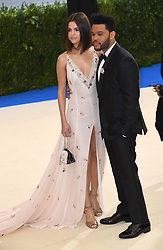 Selena Gomez and The Weeknd attending The Metropolitan Museum of Art Costume Institute Benefit Gala 2017, in New York City, USA. Photo Credit should read: Doug Peters/EMPICS Entertainment.