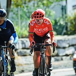 VOS Marianne ( NED ) – CCC - Liv ( CCC ) - NED – Querformat - quer - horizontal - Landscape - Event/Veranstaltung: Liège Bastogne Liège - Category/Kategorie: Cycling - Road Cycling - Elite Women - Elite Men - Location/Ort: Europe – Belgium - Wallonie - Liège - Start: Bastogne-Womens Race - Liège-Mens Race - Finish: Liège - Discipline: Road Cycling - Distance: 257 km - Mens Race - 135 km - Womens Race - Date/Datum: 04.10.2020 – Sunday - Photographer: © Arne Mill - frontalvision.com