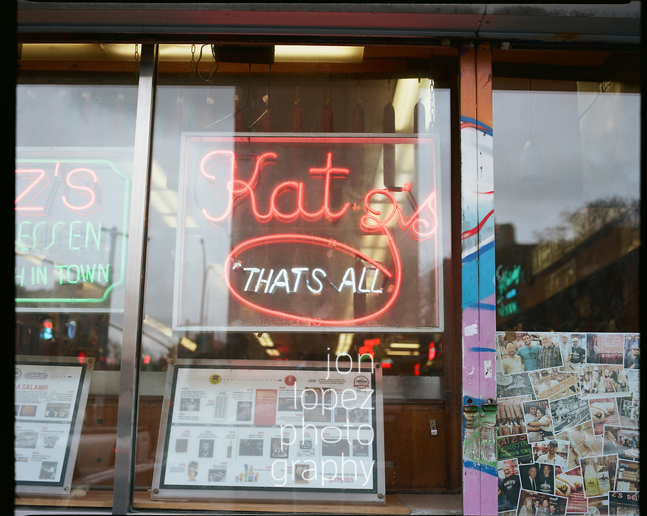 Katz's Deli, Lower East Side NYC 2020