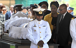 60818553  <br /> South African President Jacob Zuma (R) respects at the coffin of former South African President Nelson Mandela at the Union Buildings in Pretoria, South Africa, on Dec. 11, 2013. Thousands of South Africans on Wednesday thronged to the Union Buildings in Pretoria where the body of former South African president Nelson Mandela will lie in state for three days, Wednesday, 11th December 2013. Picture by  imago / i-Images<br /> UK ONLY