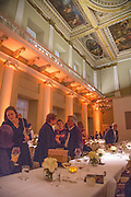 Lisson Gallery dinner, Banqueting House. London. 15 October 2013