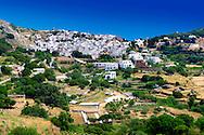 Apirathos  Hill Top Village, Naxos, Greek Cyclades Islands