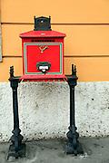 Hungarian Postbox Budapest