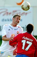 Fotball - 1.divisjon 15. september 2002. Strømsgodset - Skeid. Robert Holmen, SIF.<br /> <br /> Foto: Andreas Fadum, Digitalsport
