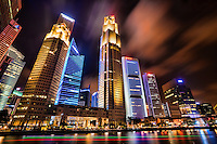 Downtown Singapore @ Night