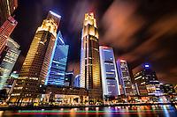 Downtown Singapore @ Night