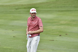October 15, 2017 - Kuala Lumpur, MALAYSIA - Keegan Bradley of USA in action during the CIMB Classic 2017 day 4 on October 15, 2017 at TPC Kuala Lumpur, Malaysia. (Credit Image: © Chris Jung via ZUMA Wire)