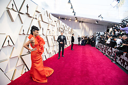 Hannah Beachler Oscar® nominee, arrives on the red carpet of The 91st Oscars® at the Dolby® Theatre in Hollywood, CA on Sunday, February 24, 2019.