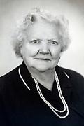 portrait of an senoir woman