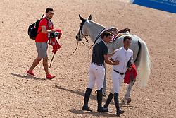 Guerdat Steve, SUI, Philippaerts Nicola, BEL<br /> World Equestrian Games - Tryon 2018<br /> © Hippo Foto - Dirk Caremans<br /> 23/09/2018