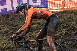 BAKKER Manon (NED) during Women Under 23 race, 2020 UCI Cyclo-cross Worlds Dübendorf, Switzerland, 2 February 2020. Photo by Pim Nijland / Peloton Photos   All photos usage must carry mandatory copyright credit (Peloton Photos   Pim Nijland)