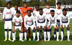 October 3, 2018 - London, England, United Kingdom - Enfield, UK. 03 October, 2018.Tottenham Hotspur Team.during UEFA Youth League match between Tottenham Hotspur and FC Barcelona at Hotspur Way, Enfield. (Credit Image: © Action Foto Sport/NurPhoto/ZUMA Press)