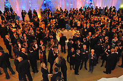 Overview of The Blue Leadership Ball 2009, Yale University Department of Athletics. Event takes place at the William K. Lanman Center. Photo Credit: James R Anderson