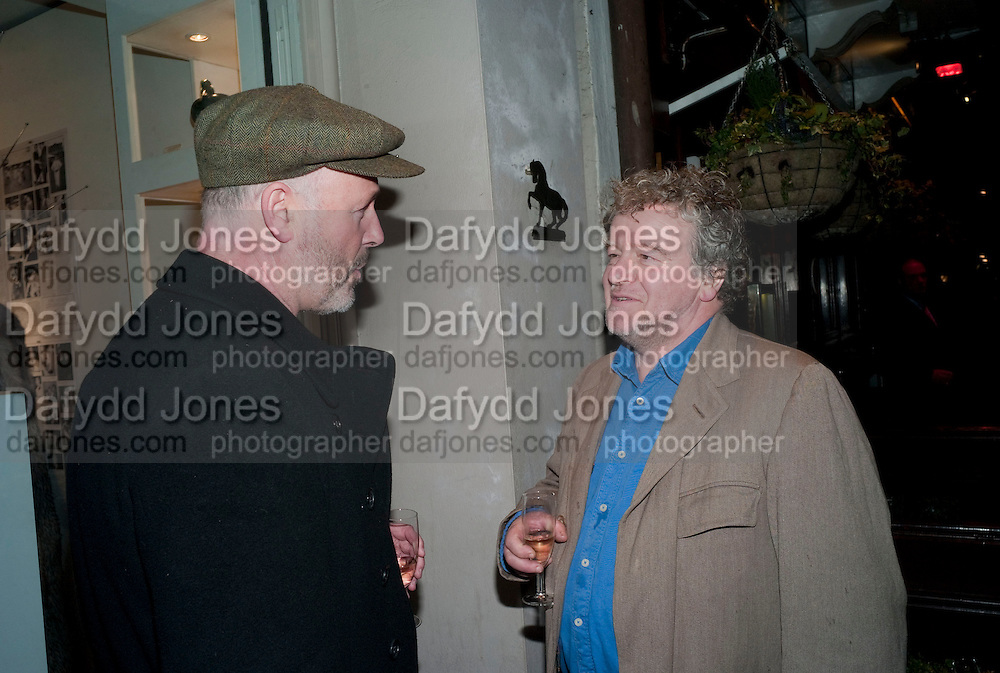 SIMON OAKES; JULIAN BANNERMAN, The Way We Wore.- Photographs of parties in the 70's by Nick Ashley. Sladmore Contemporary. Bruton Place. London. 13 January 2010.<br /> SIMON OAKES; JULIAN BANNERMAN, The Way We Wore.- Photographs of parties in the 70's by Nick Ashley. Sladmore Contemporary. Bruton Place. London. 13 January 2010. *** Local Caption *** -DO NOT ARCHIVE-© Copyright Photograph by Dafydd Jones. 248 Clapham Rd. London SW9 0PZ. Tel 0207 820 0771. www.dafjones.com.