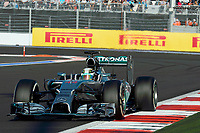HAMILTON Lewis (Gbr) Mercedes Gp Mgp W05 action  during the 2014 Formula One World Championship, Russia Grand Prix from October 9th to 12th 2014 in Sotchi, Russia. Photo Eric Vargiolu / DPPI.
