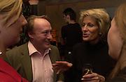 Andrew Roberts and Leoni Freeda. Robert Hardman Telegraph goodbye party. Paparazzi Cafe. Hanover St. London W1. 11 January 2000. © Copyright Photograph by Dafydd Jones 66 Stockwell Park Rd. London SW9 0DA Tel 020 7733 0108 www.dafjones.com