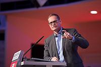 DEU, Deutschland, Germany, Berlin, 30.03.2019: Landesparteitag der Berliner SPD. Rede von Michael Müller, SPD-Landesvorsitzender und Regierender Bürgermeister von Berlin.