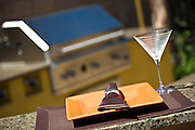 Martini Glass And Plate
